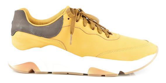 Tenis Para Hombre Lob 627-9994 Amarillo Nuevo Oi19