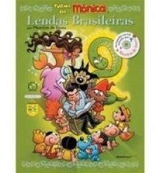 Livro Lendas Brasileiras Com Cd - Turma Da Mônica