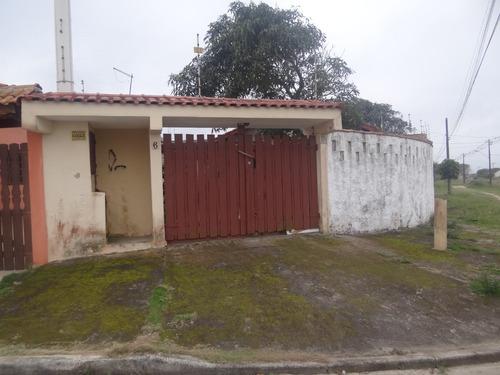 Casa Usada Bem Conservada Lado Praia Em Itanhaém R$ 320 Mil