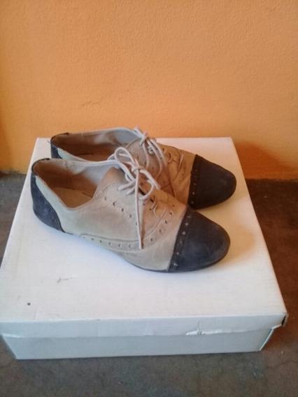 Zapatos Mocasin Acordonado Clona