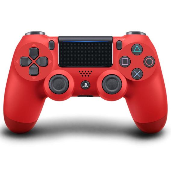 Controle Sem Fio Playstation 4 Sony Dualshock 4 Vermelho