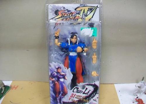 Street Fighter Iv Campcon Neco Chun-li Figura Articulada