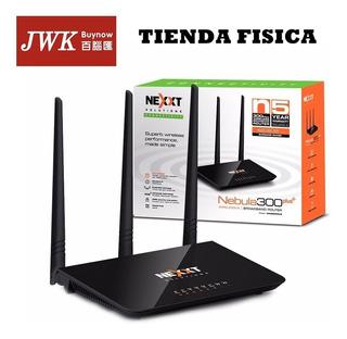 Router Nexxt Nebula 300 Mbps 3 Antenas Jwk