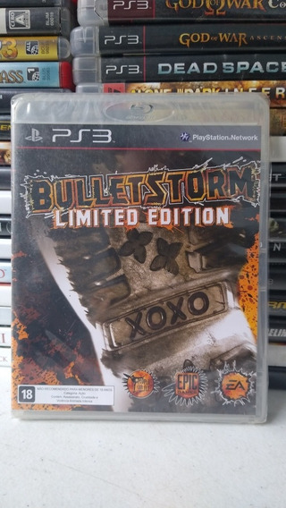 Bullet Storm Mídia Física Playstation 3 Lacrado