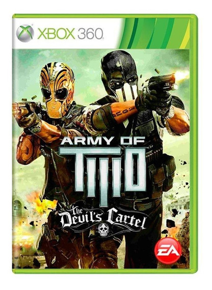 Army Of Two The Devils Cartel Xbox 360 Mídia Física