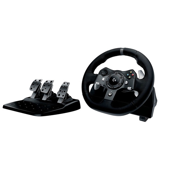 Volante Y Pedales Gamer G920 Driving Force Logitech