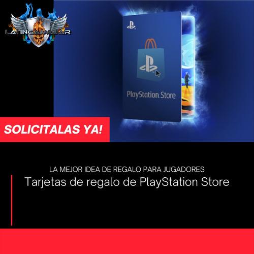 Playstation Tarjetas De Regalo
