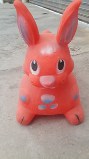 Juguete Para Niños Conejo Saltarin De Goma