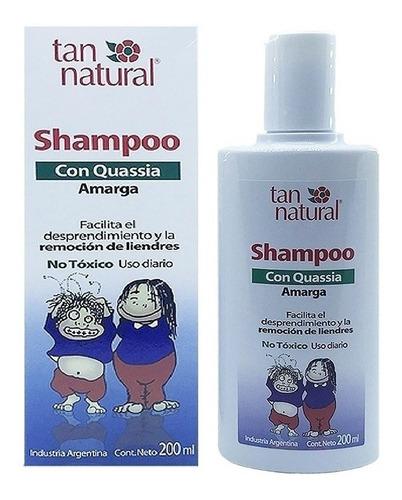 Shampoo Piojos Liendres Quassia Amarga Tan Natural 200ml