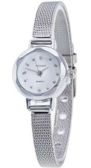Relógios Feminino Em Aço Frete Grátis Com Caixa Presente Top