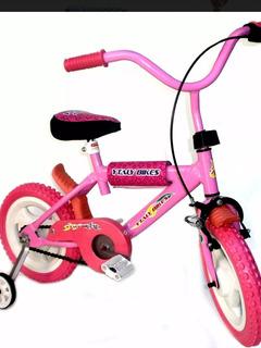Bicicleta Niñas Niños Rodado 12