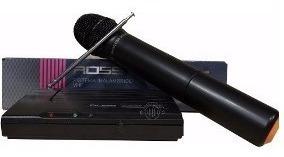 Microfono Inalambrico Ross Karaoke Canto Voces Vhf Fv-302