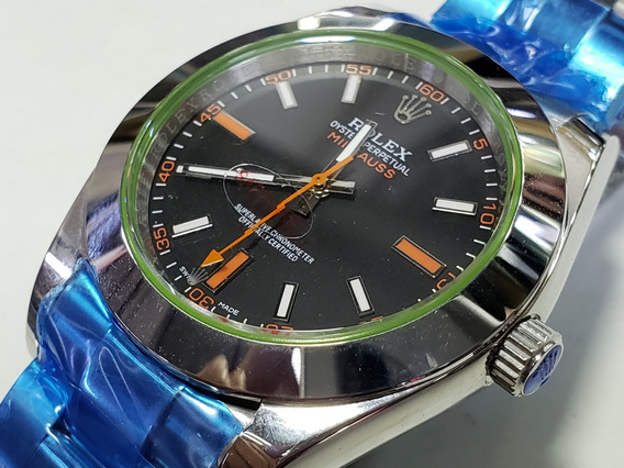 Relógio Milgauss Automático Masculino + Caixa Verde