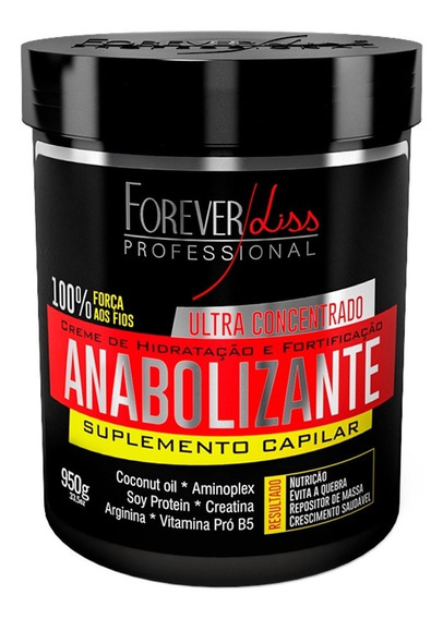 Forever Liss Anabolizante Capilar 950g