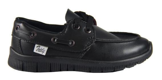 Zapato Colegial Tridy Con Cordón 23 Al 26