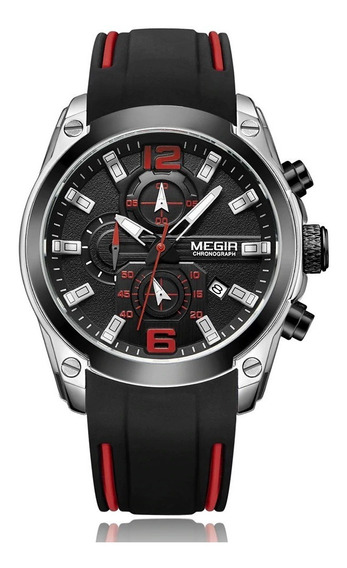 Relógio Masculino Megir 2063 Luxo Original Prova D