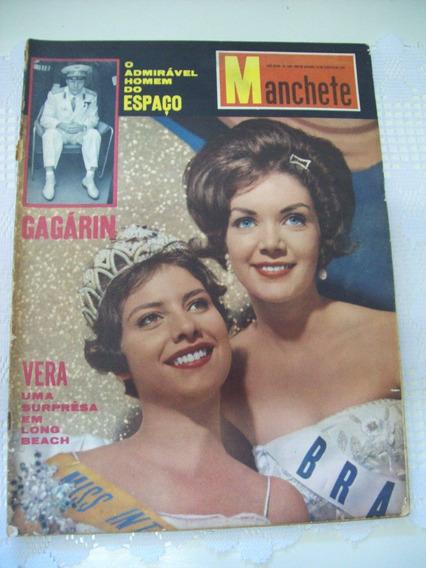 Manchete Nº 486: Miss Vera Maria Em Long Beach - Gagárin