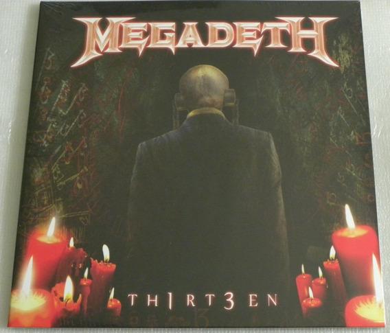 Megadeth Thirteen 13 2 Lp Selado Exodus Anthrax Venom Slayer
