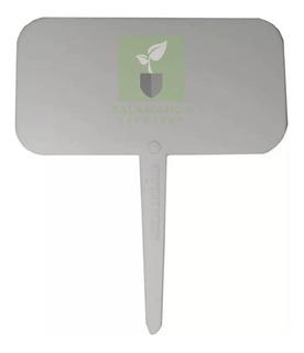 Cartel Mediano X 10 Indicador Plastico Para Huerta Macetas