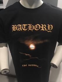 Bathory The Return... T-shirt Merch Official Import