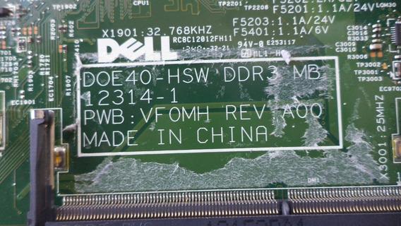 Placa Mãe Dell 14r 5437 - Pwb:vfomh - Vide Descrição
