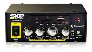 Amplificador Para Publicidad Skp Stereo 12v/220v