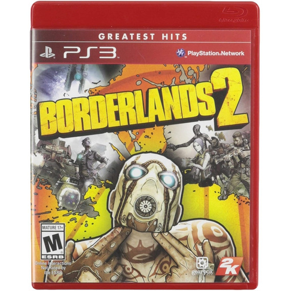 Borderlands 2 Ps3 Mídia Física Novo Lacrado Original