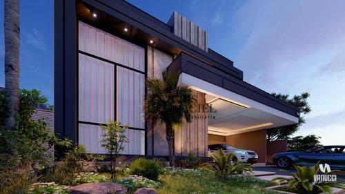 Imagem 1 de 8 de Casa Com 4 Suítes À Venda, 250 M² Por R$ 1.950.000 - Jardim Residencial Santa Clara - Indaiatuba/sp - Ca0170