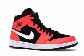 Air Jordan 1 Mid Black Infrared 23 Nike 27 Mx 9us Nvos