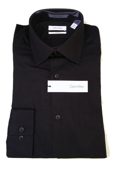 Camisa Nueva Importada Calvin Klein Slim Fit. T 32-33 T41