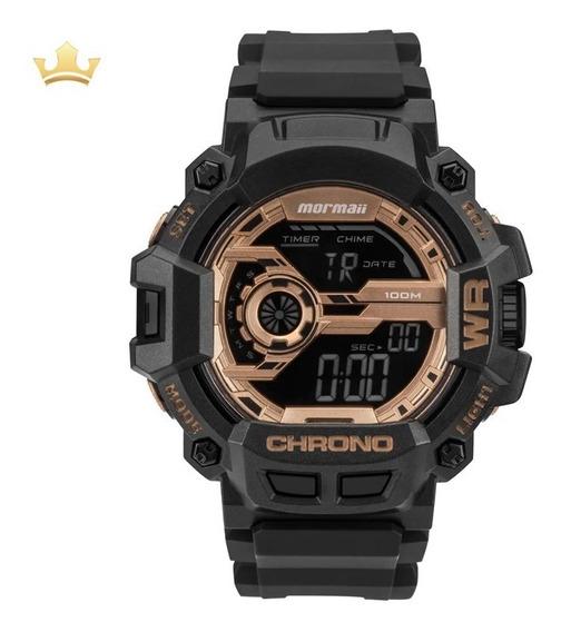 Relógio Mormaii Masculino Mo1105b/8j Com Nf
