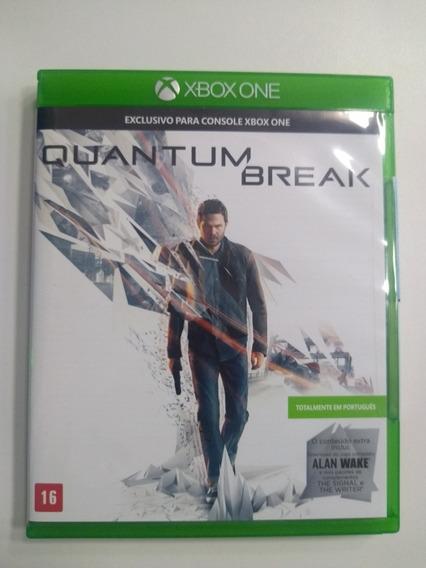 Quantum Break Original - Xbox One Em Mídia Física
