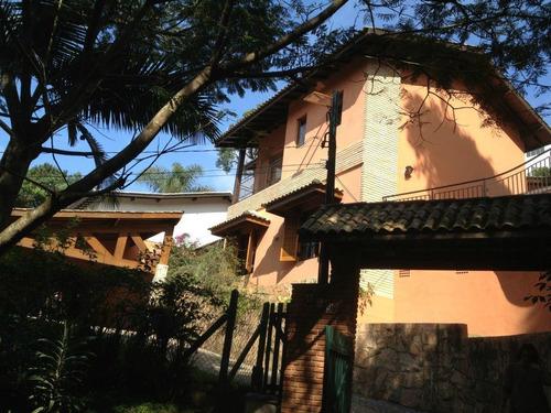 Casa Com 4 Dormitórios À Venda, 240 M² Por R$ 1.200.000,00 - Granja Viana Ii Gleba 1 E 2 - Cotia/sp - Ca1048