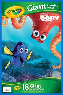 Paginas Para Dibujar Gigantes Dory Buscando A Nemo 04006
