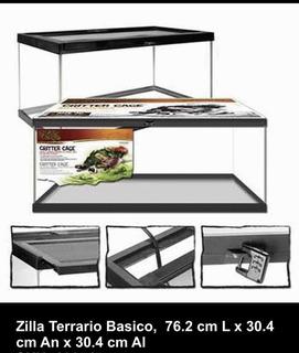 Terrario Zilla Reptiles 76.2cm L X 30.4cm An X 30.4cm Al