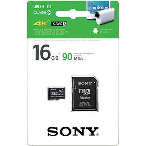 Cartão De Memória Sony 16 Gb 4k