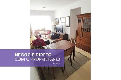 Apartamento Recém Reformado, 2 Quartos, À Venda Na Consolação - Rj - Ap0457