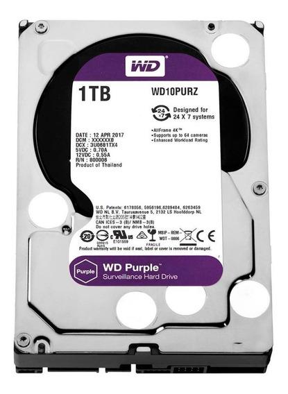Hd Sata Western Digital Wd Purple 1tb Wd10purx