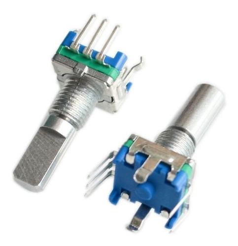 5 pines  20mm 360 grados interruptor de código//EC11// 2x codificador rotatorio
