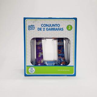 Conjunto De 2 Garrafa Squeeze 414 Ml Cool Gear