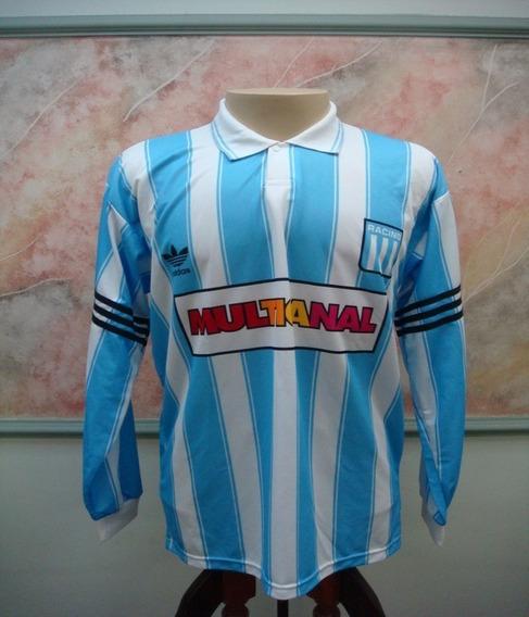 Camisa Futebol Racing Argentina adidas Antiga 781