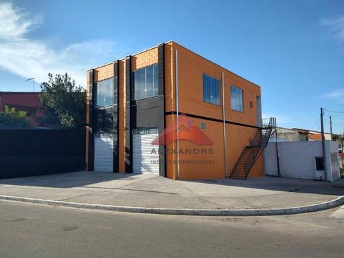 Ótimo Salão À Venda, 240 M² Por R$ 425.000 - Jardim Mariana I - São José Dos Campos/sp - Sl0153