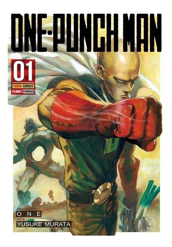 One-punch Man 1! Mangá Panini! Novo E Lacrado! Raro!