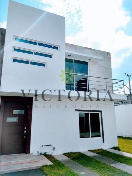 Casas Nuevas En Venta Toluca !! Residencial Victoria
