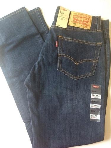 Jean Levis Hombre 511 512 513 Stretch Pantalones Originales Mercado Libre
