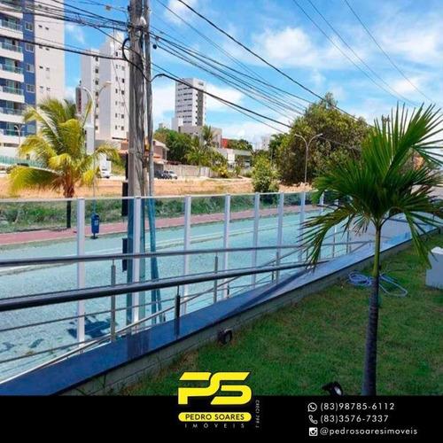 Apartamento Com 3 Dormitórios À Venda, 92 M² Por R$ 500.000 - Jardim Oceania - João Pessoa/pb - Ap3077