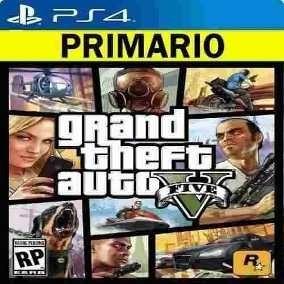 Gta V Grand Thef Auto 5 |ps4 Jogo Psn Digital Primario|