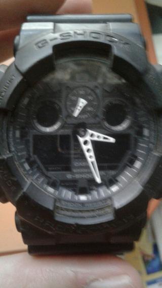 Relógio Casio Ga-100 Ga100 Ga 100 Item Quebrado