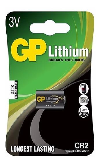 Bateria Pilha 3v Cr2 Photo Gp 10un