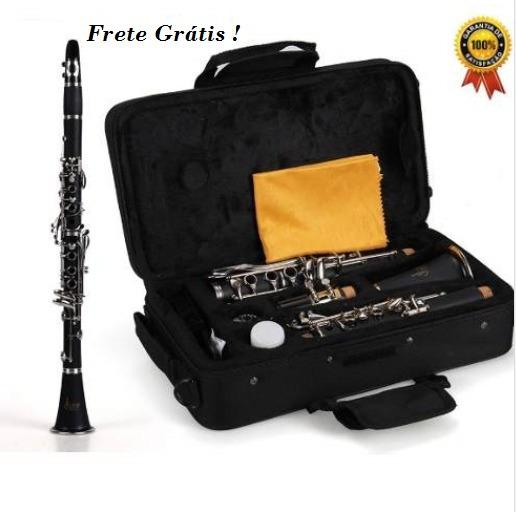 Clarinete 17 Chaves Jahnke Original Clarineta Barato